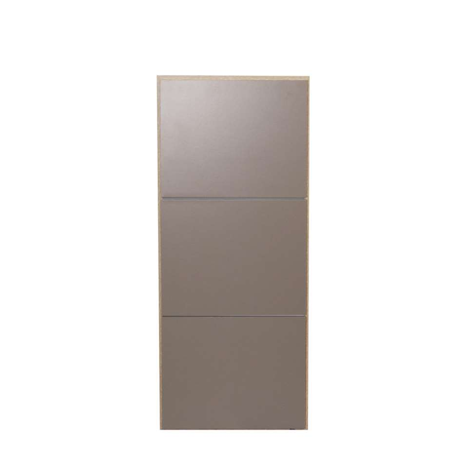 symbiosis armoire chaussures narup couleur ch ne taupe 118 7x50x33 1 cm. Black Bedroom Furniture Sets. Home Design Ideas