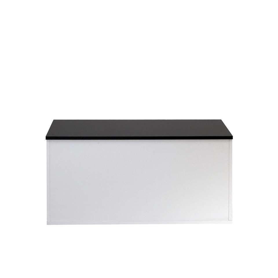 Symbiosis schoenenkast Orte - wit/zwart - 43,2x89x39,2 cm
