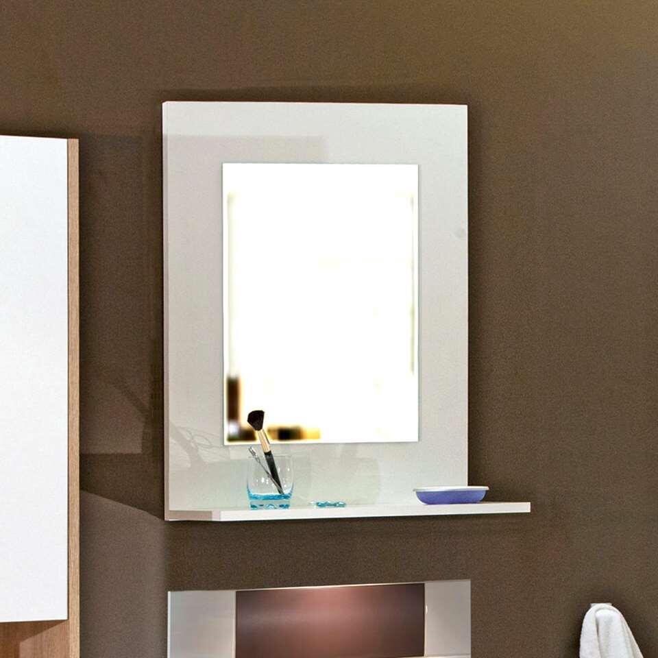 Symbiosis Miroir salle de bains Gamby - blanc - 71x61x18,6 cm