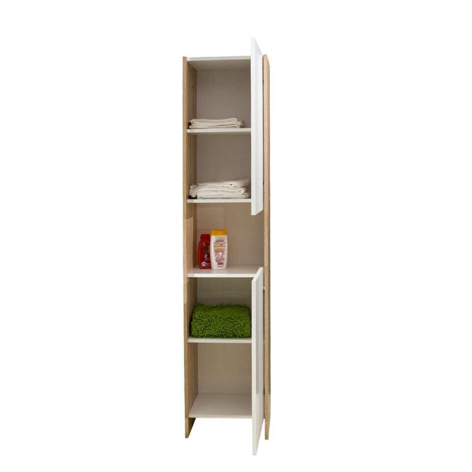 symbiosis rangement de salle de bains bogeskov blanc couleur ch ne. Black Bedroom Furniture Sets. Home Design Ideas