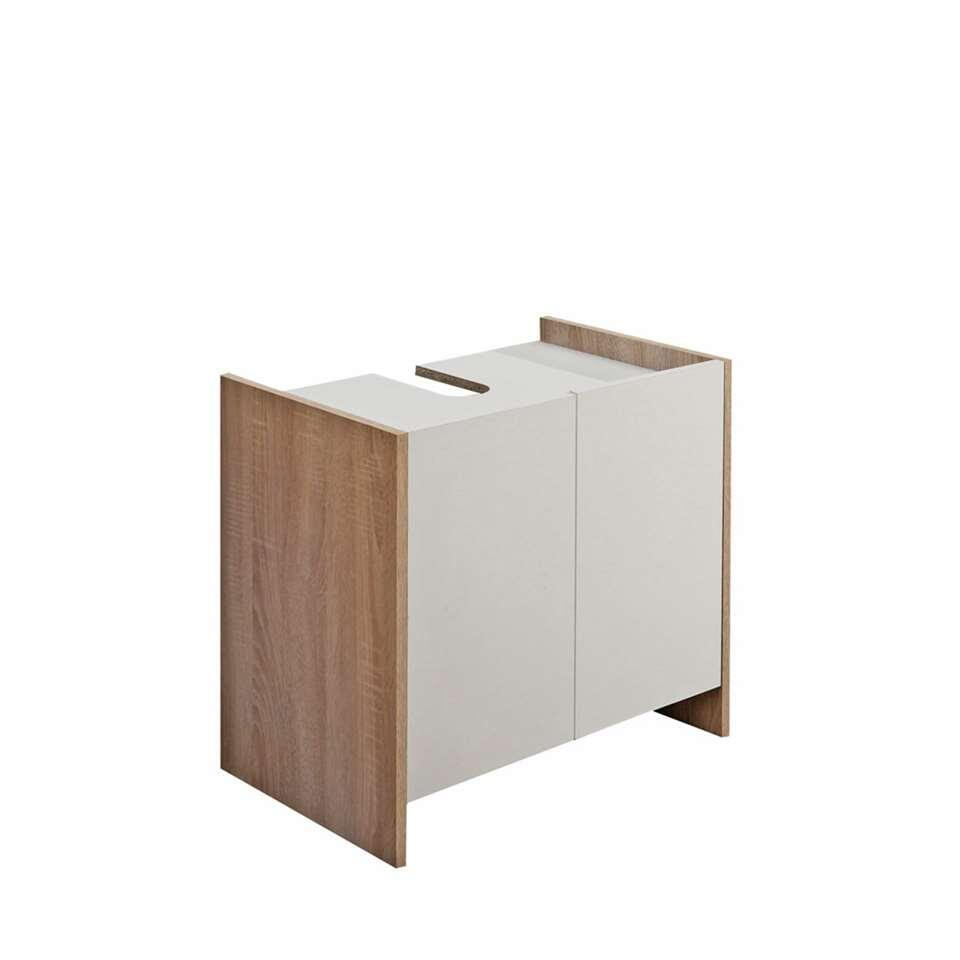 symbiosis rangement sous lavabo brandbjerg blanc couleur ch ne. Black Bedroom Furniture Sets. Home Design Ideas