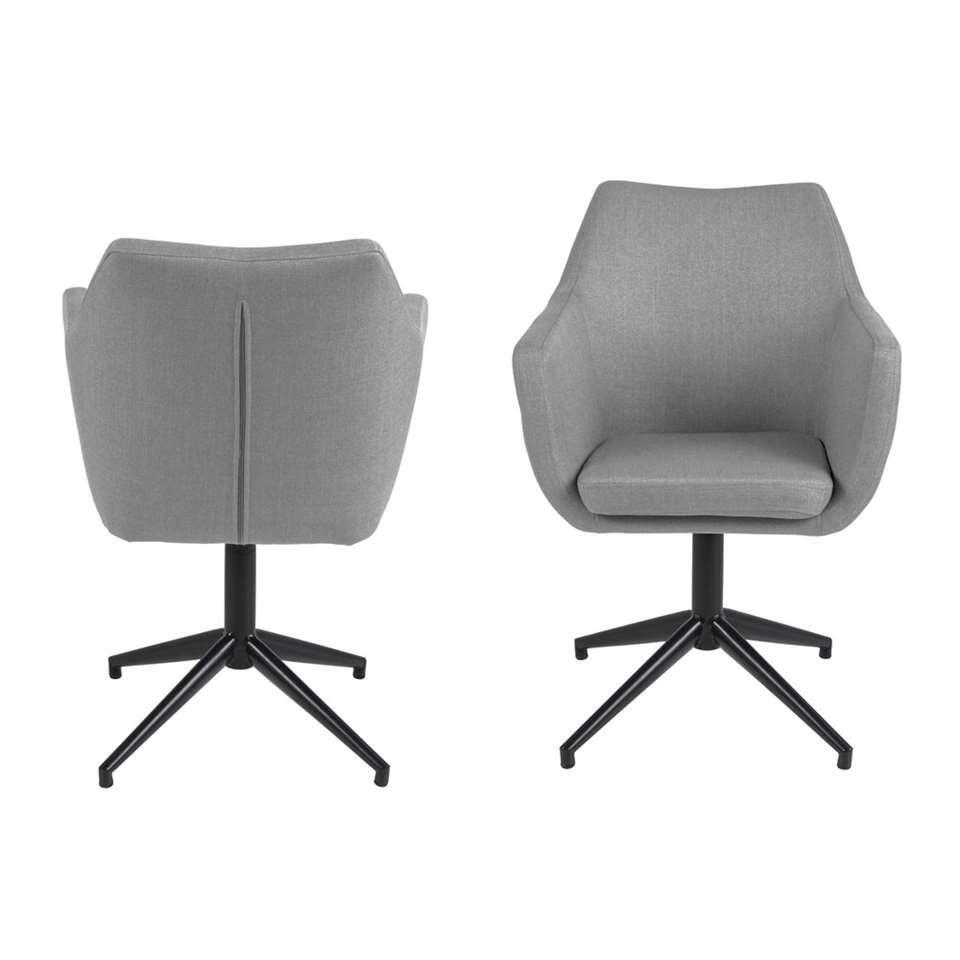 Chaise de salle à manger Uppsala - gris clair (1 pièce)