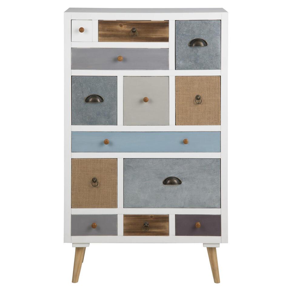 commode suomi multicolore 114x70x30 cm. Black Bedroom Furniture Sets. Home Design Ideas