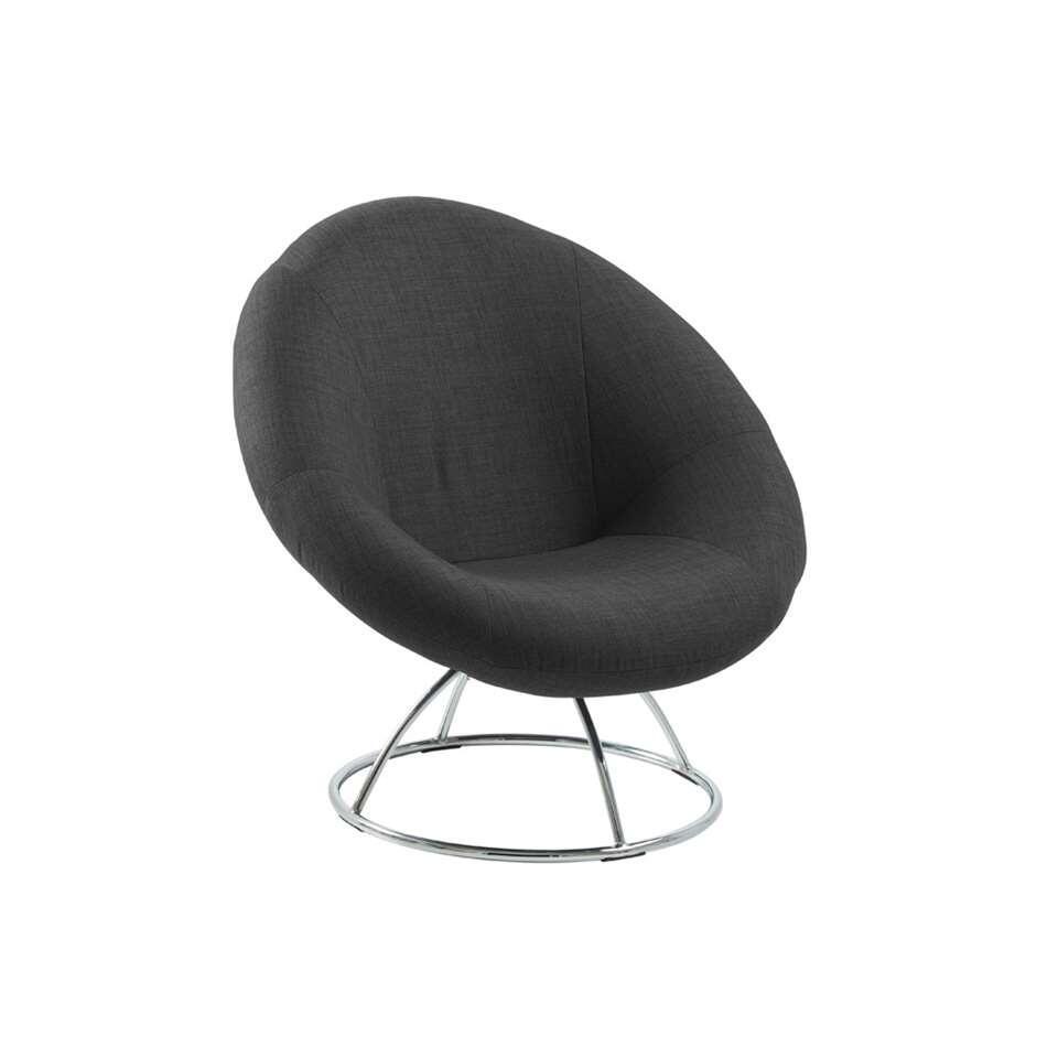 Le Lokom fauteuil invite réellement à s'installer confortablement. Lokom est recouvert de tissu doux et a un aspect unique grâce à sa cuve atypique et son support métallique mince.