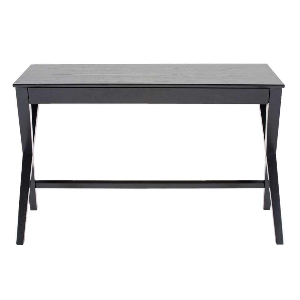 Bureau Gorvik is een typisch Scandinavisch bureau. Modern, eenvoudig en gemaakt van mooie materialen. Als je soms thuis werkt neemt het bureau niet veel plek in. Ideaal!