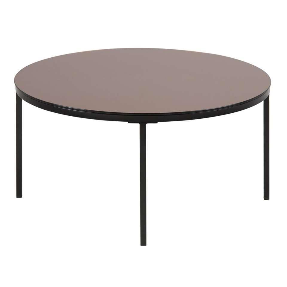 Table de salon Fevik - couleur bronze - 40x80x80 cm
