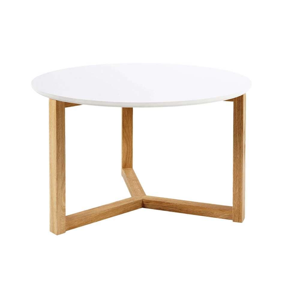 La table de salon Sunde est une table moderne avec un véritable aspect scandinave. Elles sont simples et fabriquées à partir de beaux matériaux.