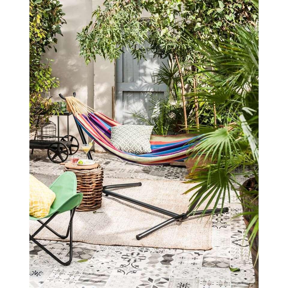 Hangmat En Standaard.Vivere Hangmat Met Standaard 2 Persoons Tropical