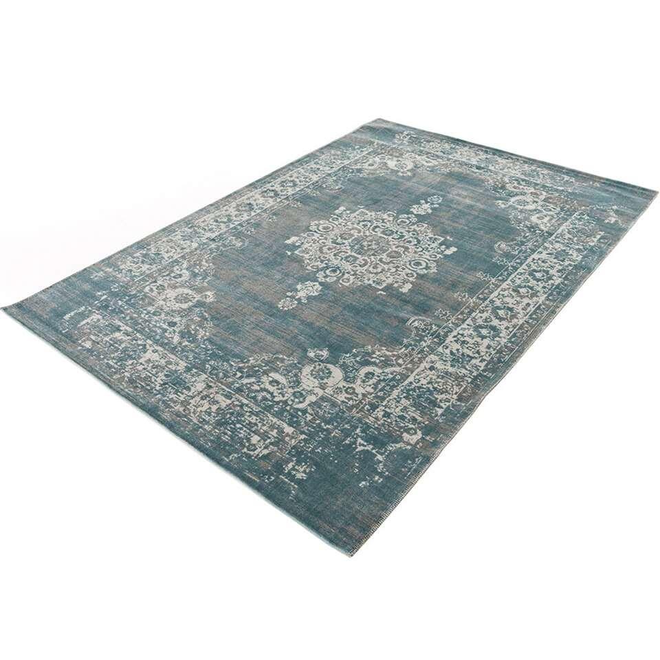 home living tapis classic gris bleu 125x200 cm. Black Bedroom Furniture Sets. Home Design Ideas