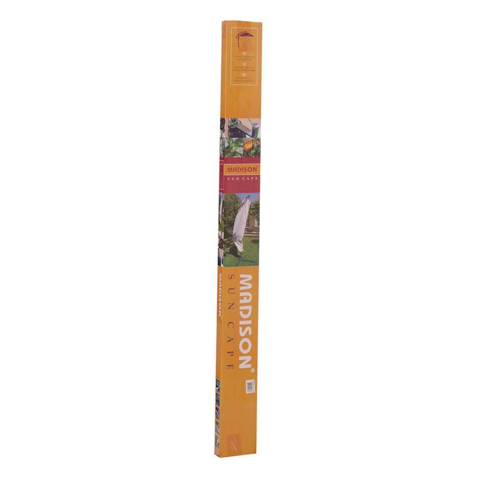 Madison beschermhoes voor hangparasol - grijs - 255x84/61 cm - Leen Bakker
