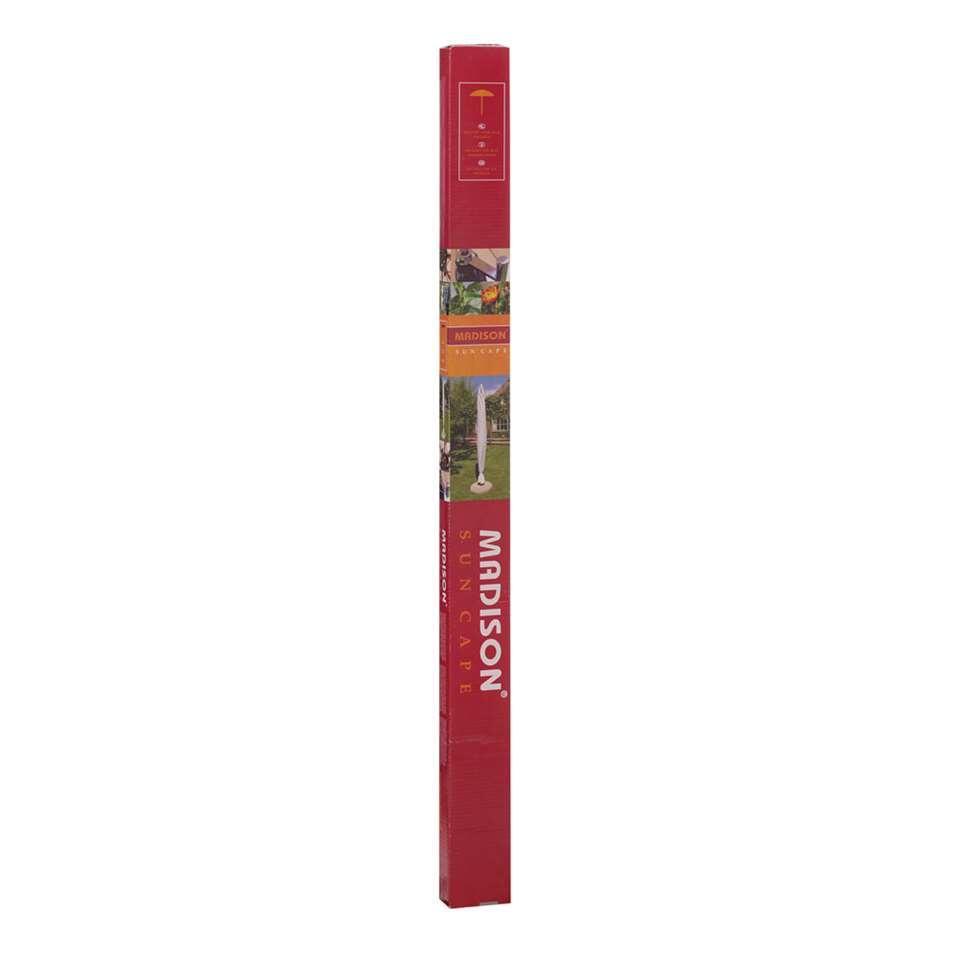 Madison beschermhoes voor staande parasol - grijs - 250x400 cm - Leen Bakker