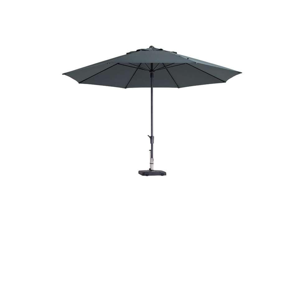 Madison luxeparasol Timor - grijs - Ø400 cm - Leen Bakker