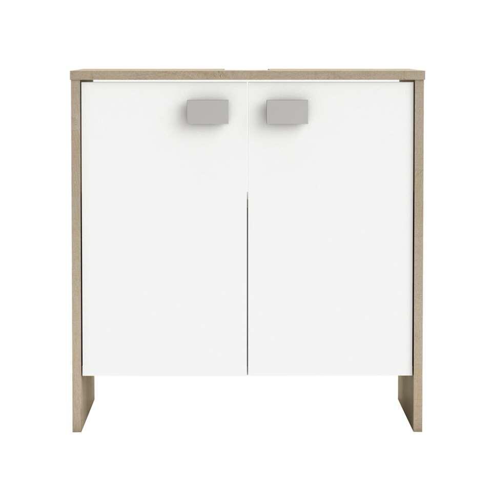 demeyere rangement sous lavabo hawai ch ne clair blanc. Black Bedroom Furniture Sets. Home Design Ideas