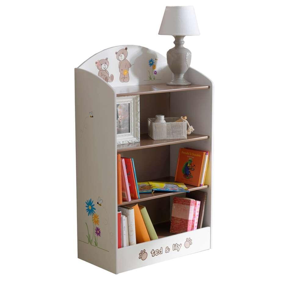 La bibliothèque Ted & Lily est une petite bibliothèque jolie, parfaite pour dans la chambre d'enfant.