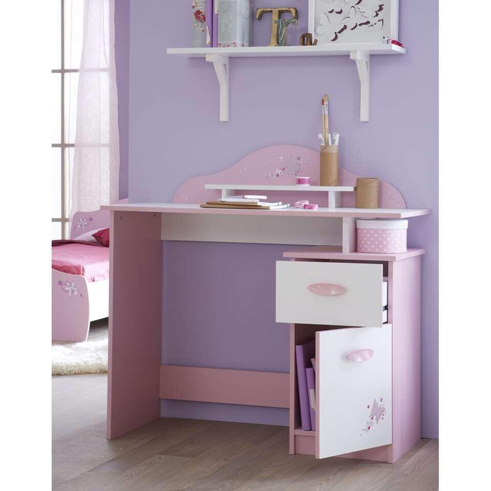 Demeyere bureau Papillon - rose - 95,7x100,7x50,1 cm