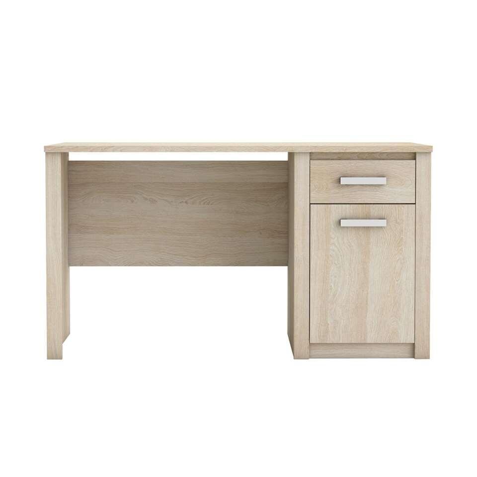 demeyere bureau sherwood brun couleur ch ne clair. Black Bedroom Furniture Sets. Home Design Ideas