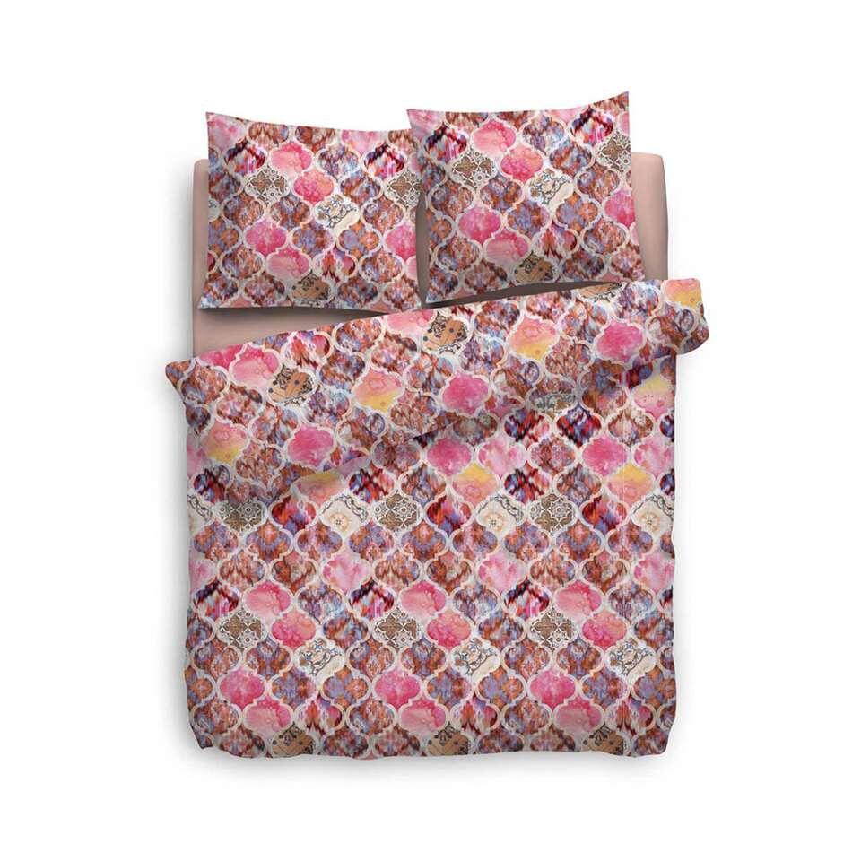 heckett lane housse de couette rachela rose 200x220 cm. Black Bedroom Furniture Sets. Home Design Ideas
