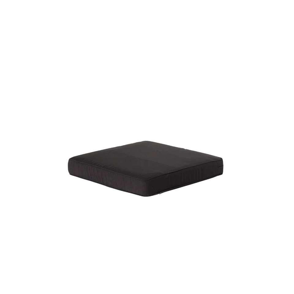 Hartman loungekussen Havana - donkergrijs - 75x75x10 cm - Leen Bakker