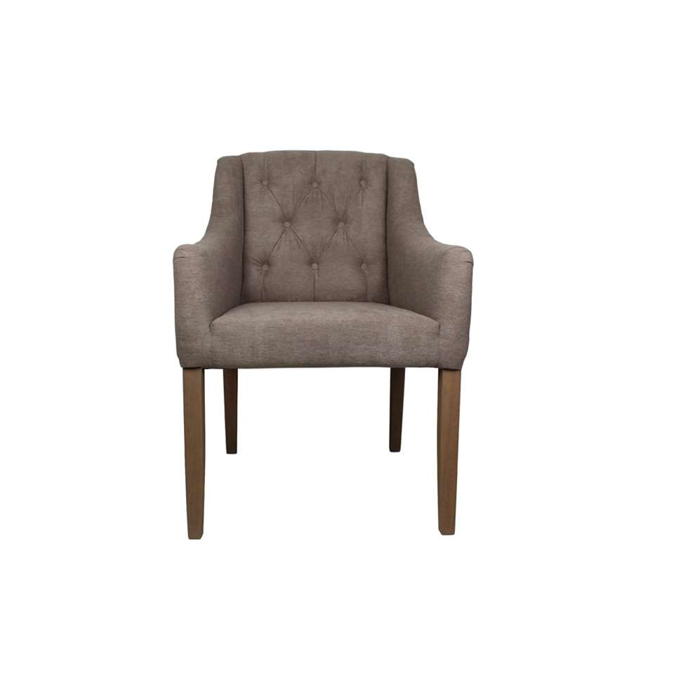 Hsm Collection Chaise De Salle A Manger Jersey Taupe