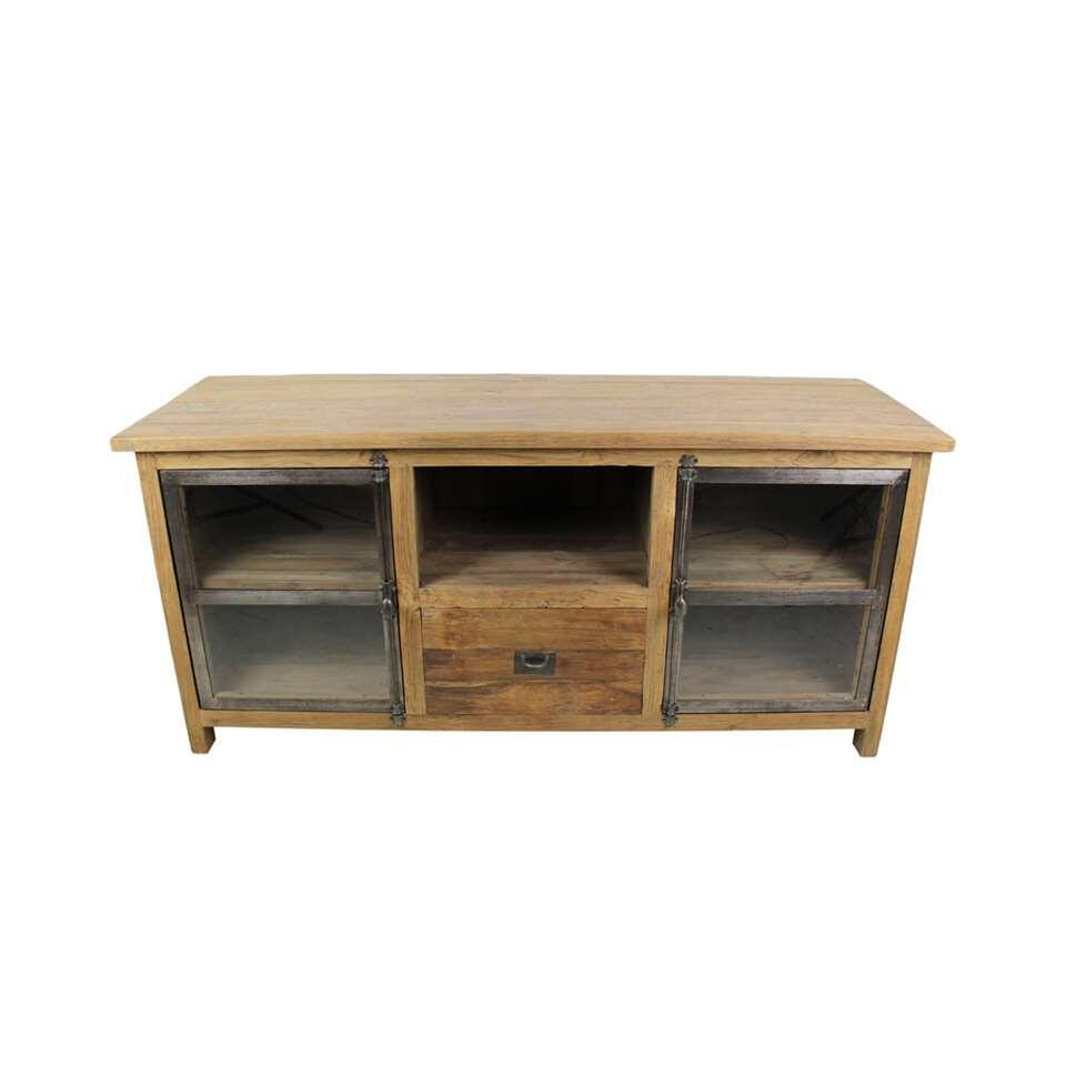 HSM Collection TV-meubel Dingklik - bruin - 150x50x70 cm