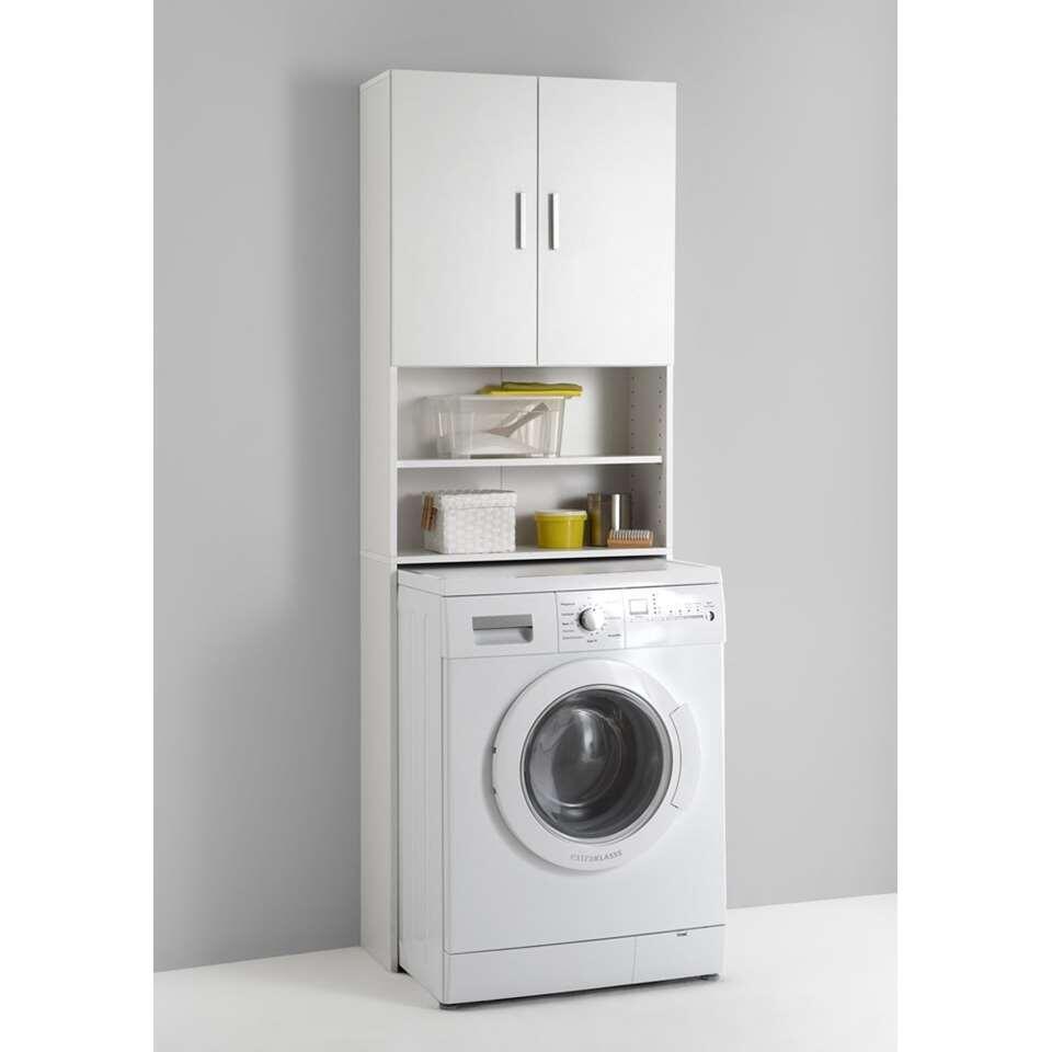 Armoire pour lave-linge Olbia - blanc