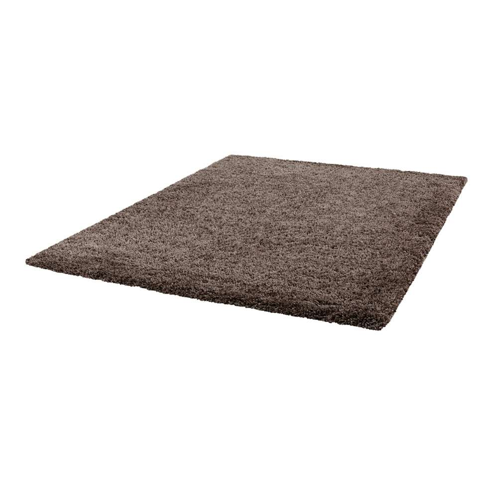 Tapis Norell Shaggy Gris Fonce 160x230 Cm