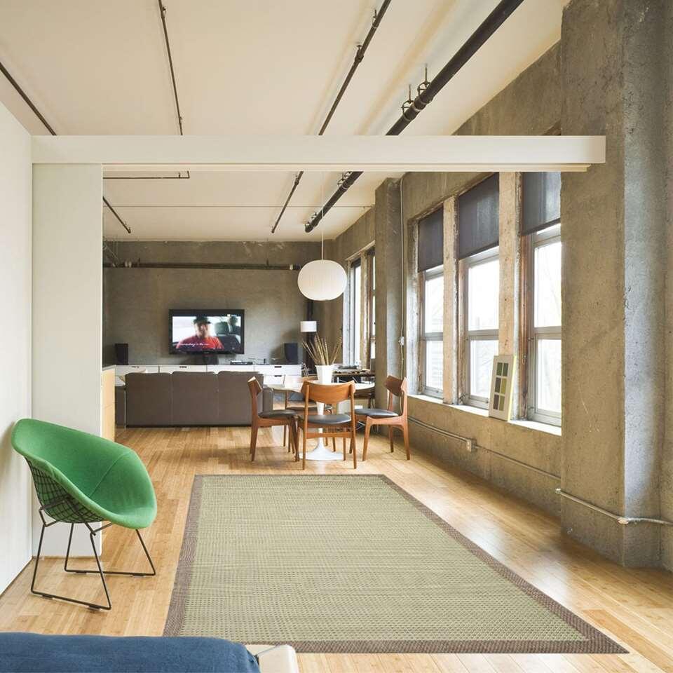 floorita tapis int rieur ext rieur chrome vert 160x230 cm. Black Bedroom Furniture Sets. Home Design Ideas