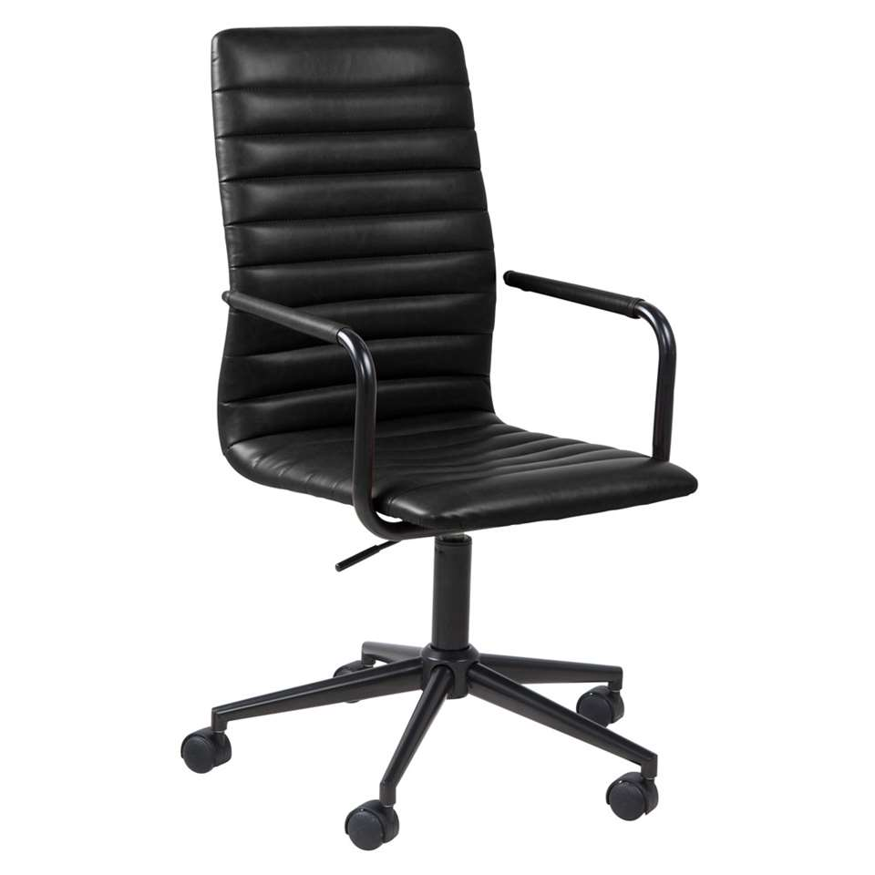 Chaise de bureau Horda - noire