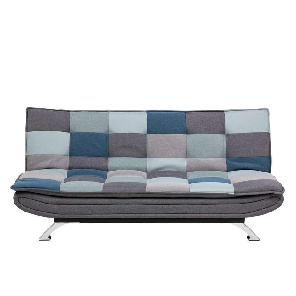 Slaapzetel Kopenhagen is een fraaie grijze 3-zitter volgens Scandinavisch design. Nog mooier! Binnen een handomdraai creëert u een extra slaapplaats.