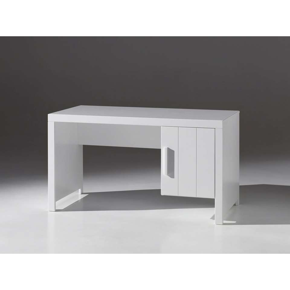 Vipack bureau Erik - wit - 137x75x70 cm