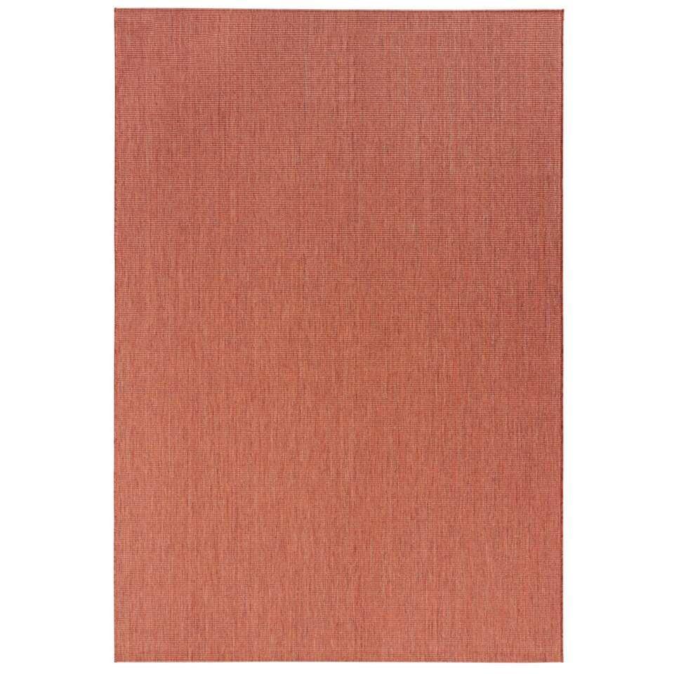 bougari tapis int rieur ext rieur match brun rouge tre 160x230 cm. Black Bedroom Furniture Sets. Home Design Ideas