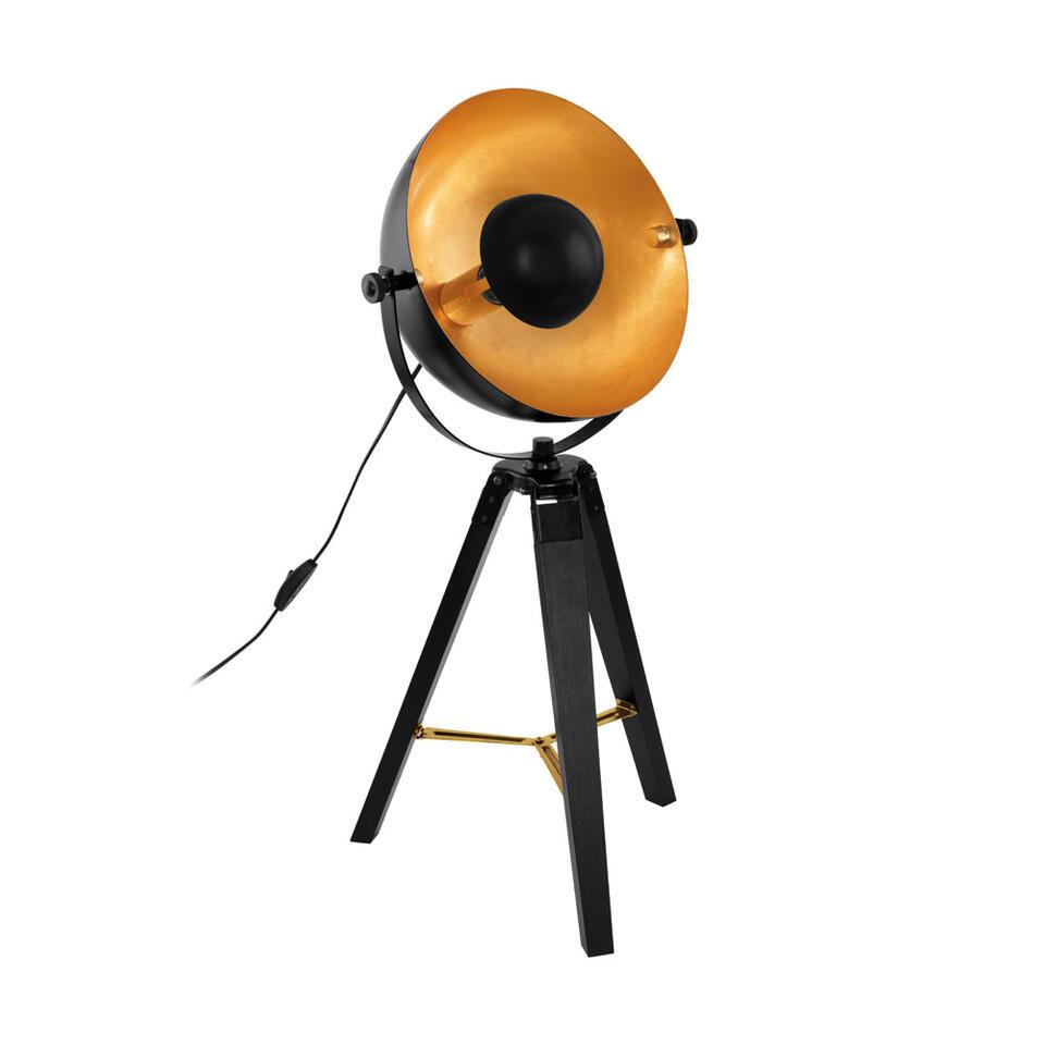 EGLO lampe de table Covaleda - noire/couleur laiton