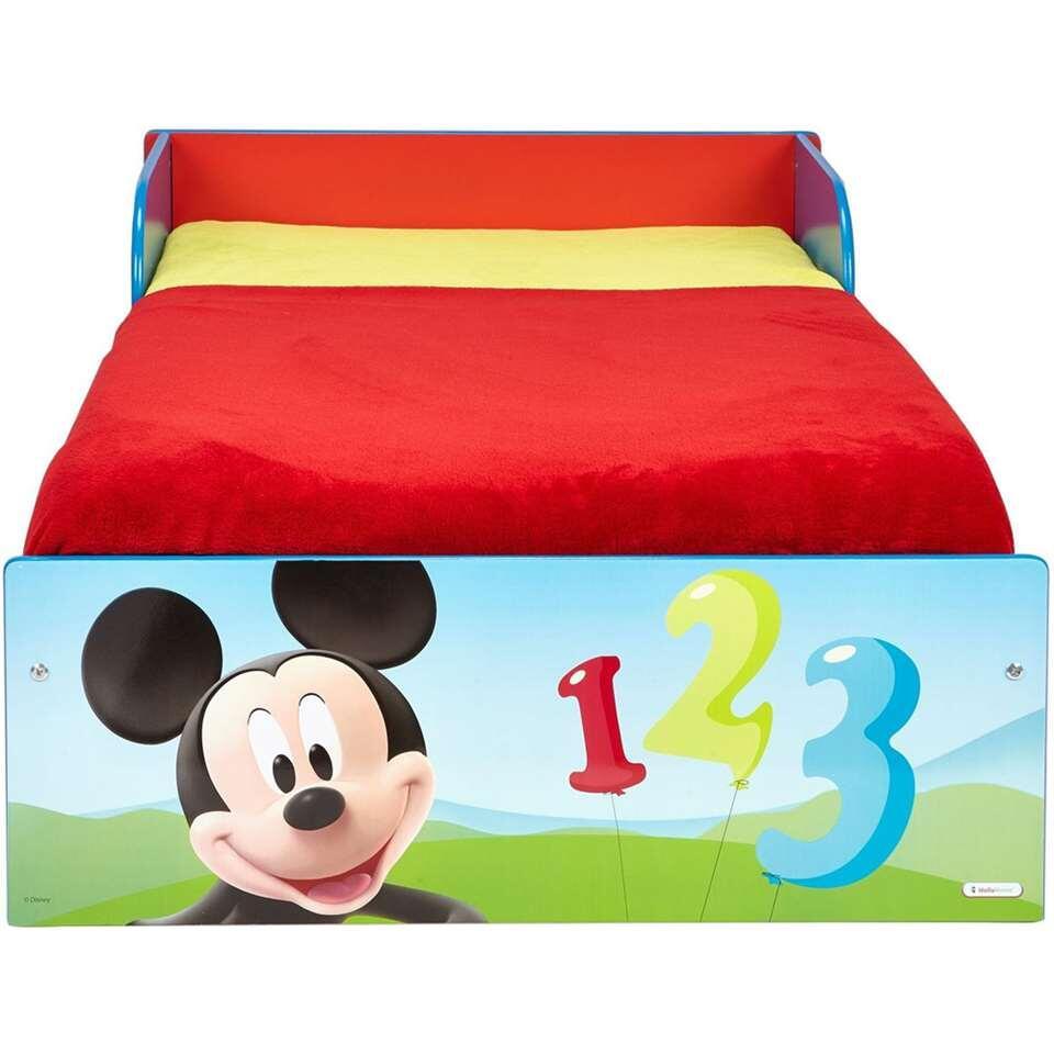 Vanaf Wanneer In Peuterbed.Disney Peuterbed Mickey Mouse 143x77x43 Cm