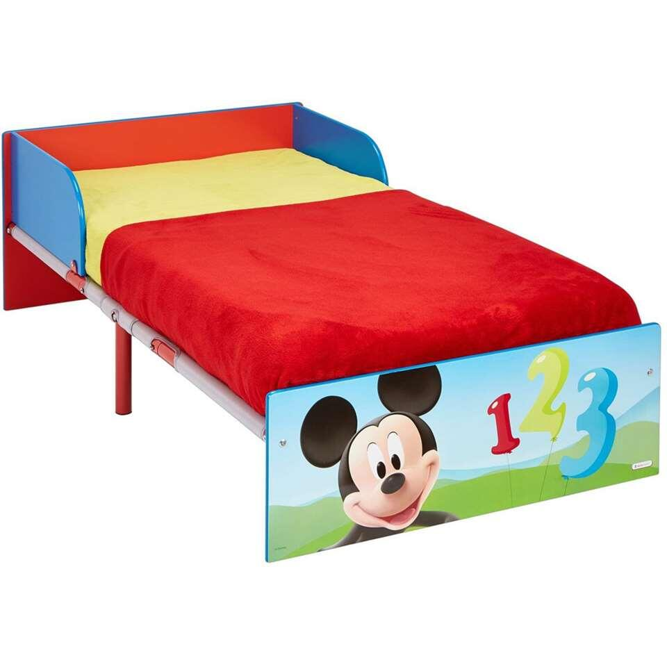 Vanaf Wanneer Peuterbed.Disney Peuterbed Mickey Mouse 143x77x43 Cm