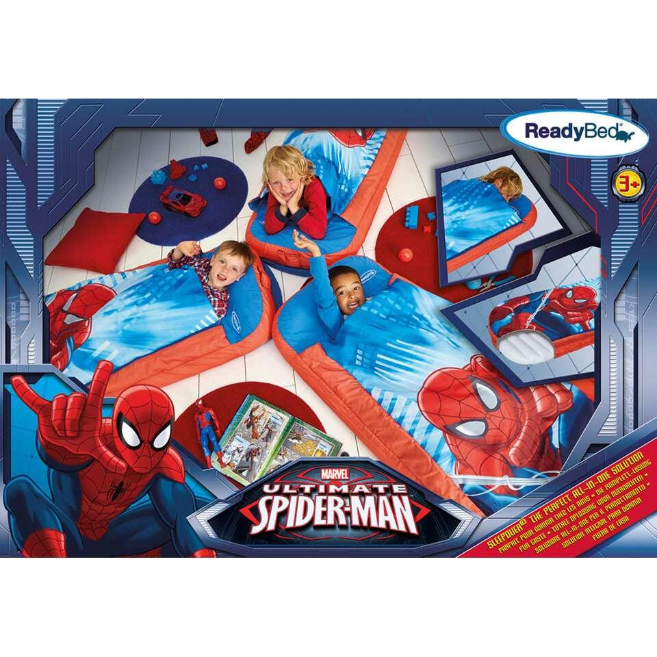 lit d 39 appoint gonflable spiderman 150x62x20 cm. Black Bedroom Furniture Sets. Home Design Ideas
