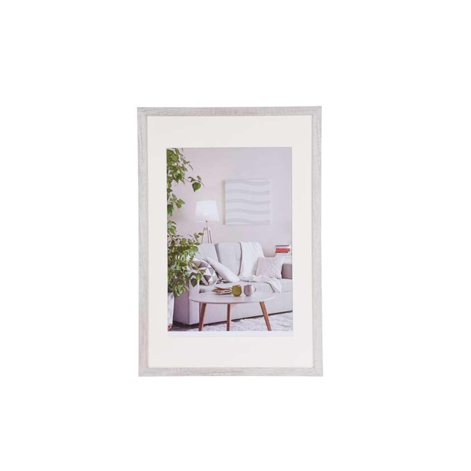 henzo cadre de photo moderne blanc 40x60 cm. Black Bedroom Furniture Sets. Home Design Ideas