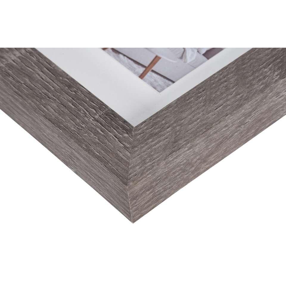 henzo cadre de photo moderne - gris fonc u00e9