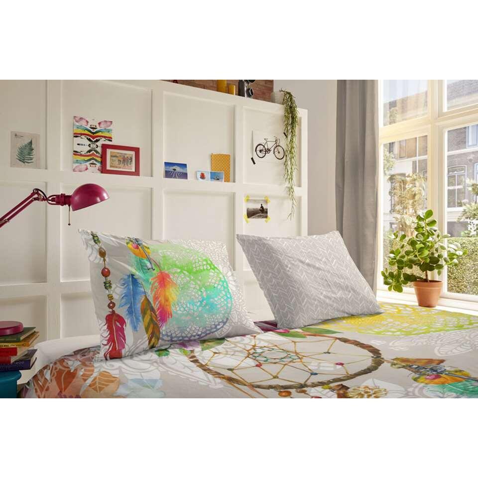 hip parure de couette guilla multicolore 140x200 220 cm. Black Bedroom Furniture Sets. Home Design Ideas