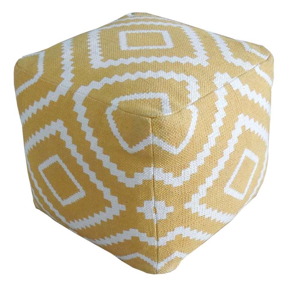 Le pouf Tudal est un pouf carré au look gai. Ce pouf est très doux donc affalez-vous. On va se détendre et se relaxer.