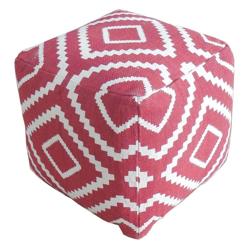Le pouf Tudal est un pouf carré au look gai. Ce pouf est très doux donc affalez-vous. On va se détendre et se relaxer. Le pouf est en couleur rouge.