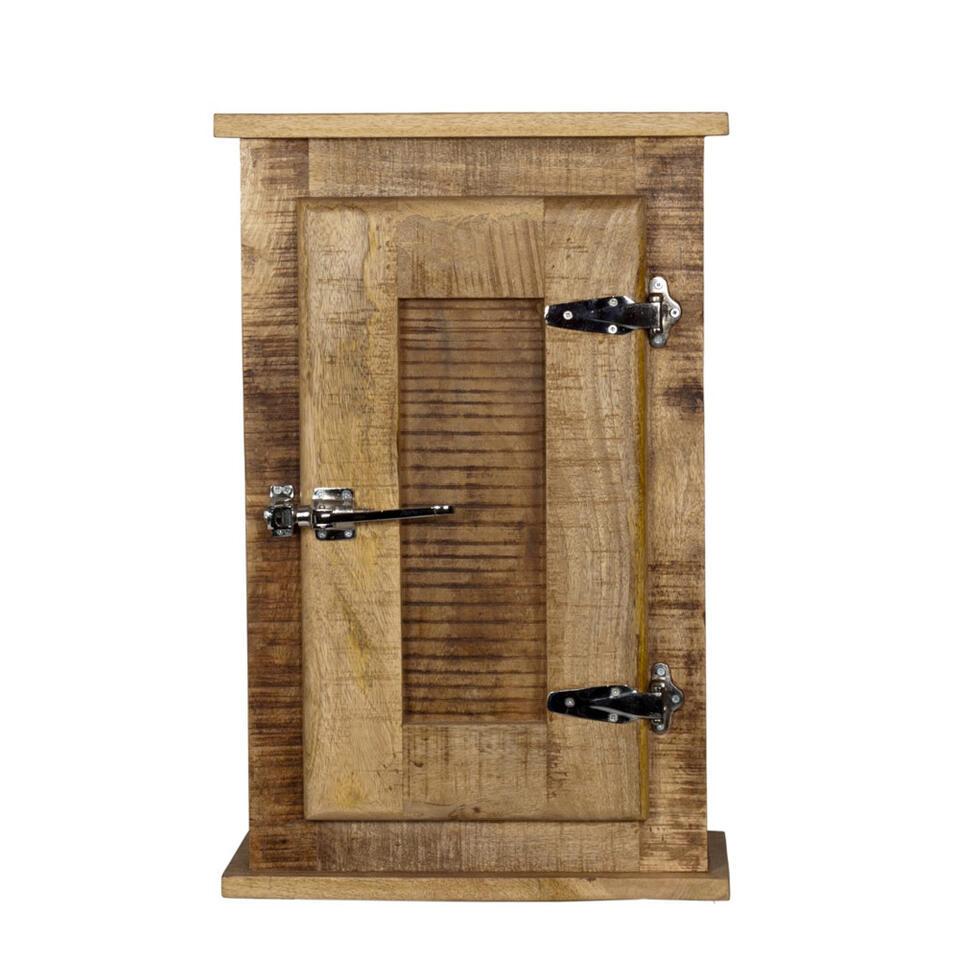 Badkamer bovenkast Jarn - mangohout - 70x45x20 cm