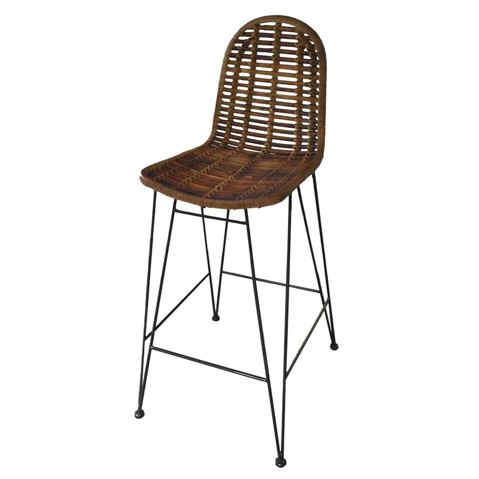 Tabouret de bar Sven - marron