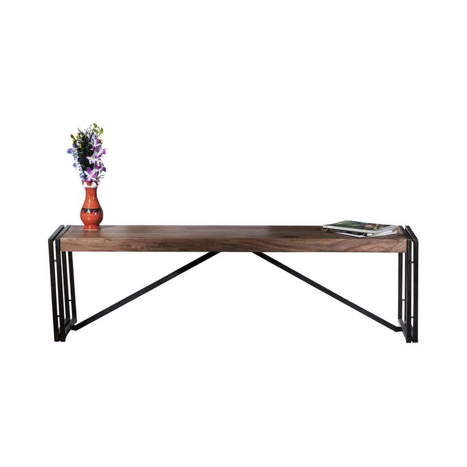 banc de salle manger quin brun. Black Bedroom Furniture Sets. Home Design Ideas