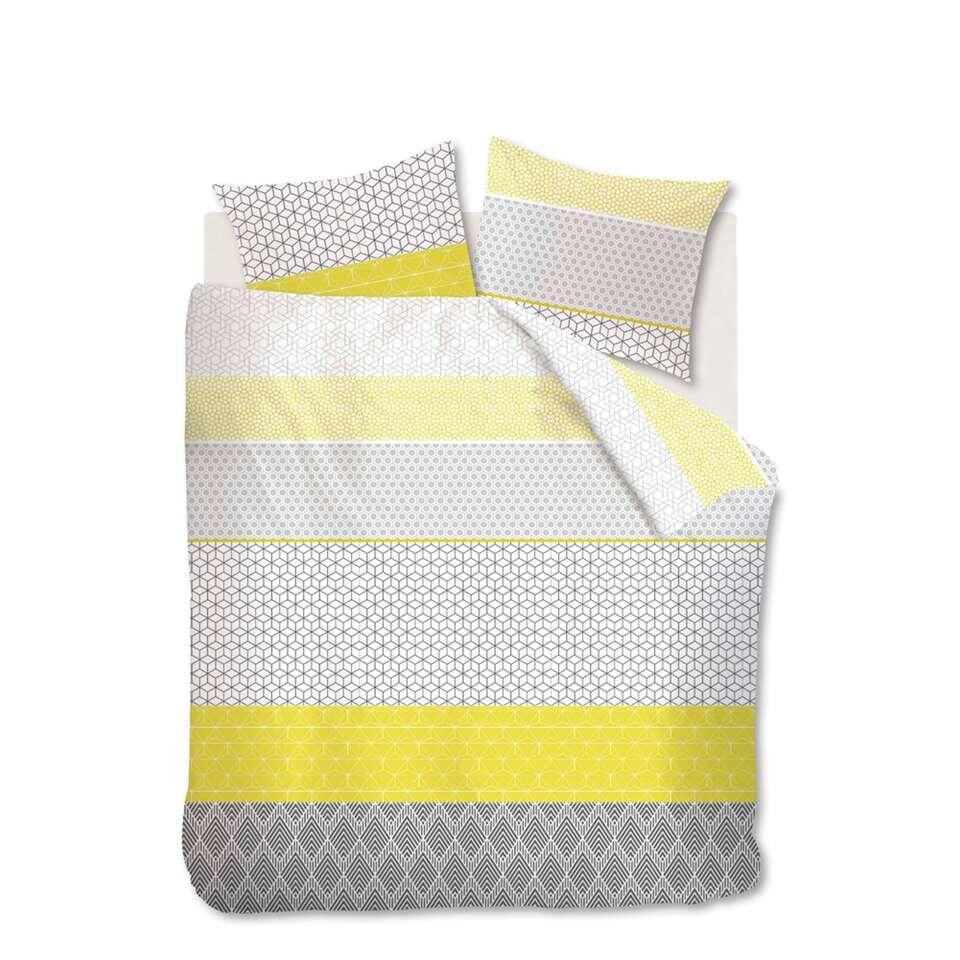 ambiante parure de couette doris grise 200x200 220 cm. Black Bedroom Furniture Sets. Home Design Ideas