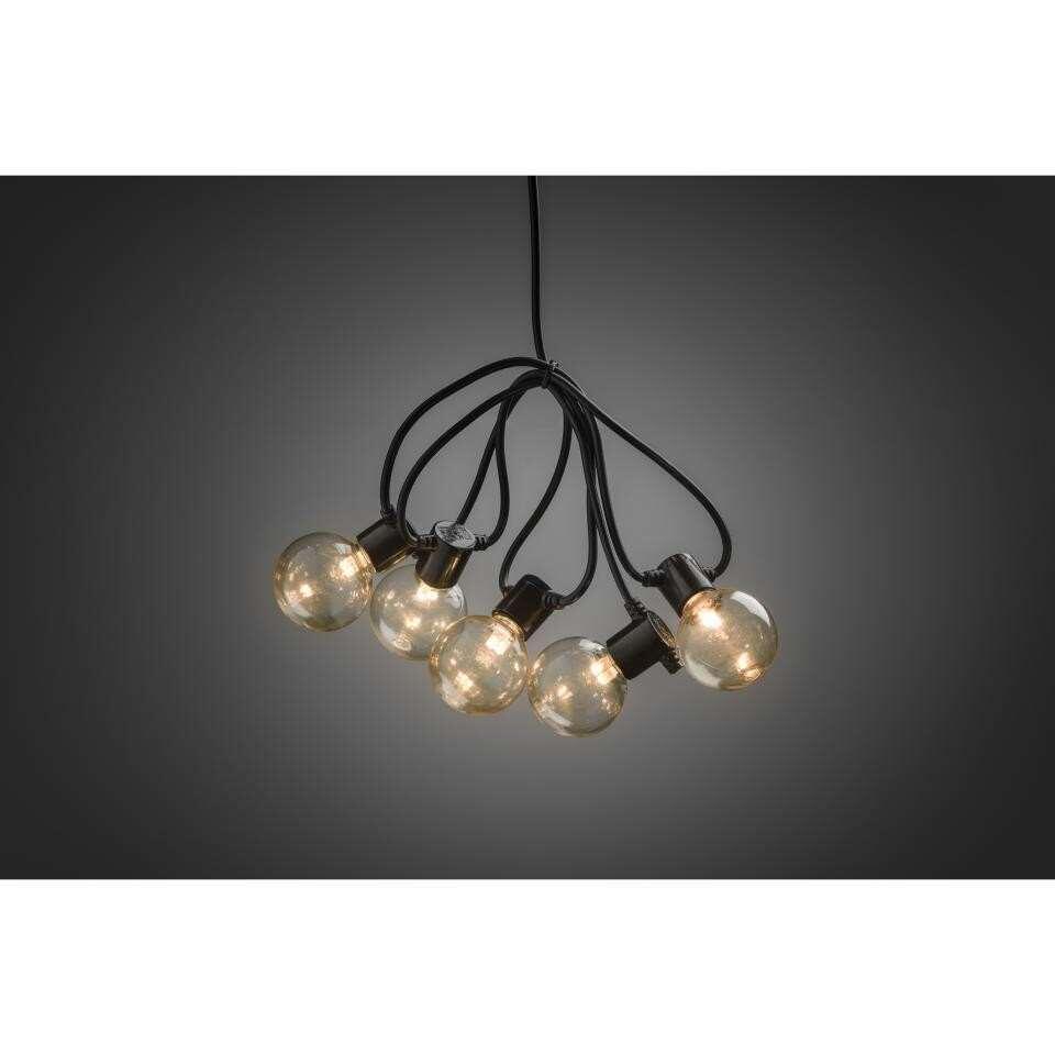 Konstsmide Led Lichtsnoer Globe 10 Lampjes Extra Warm Wit Op