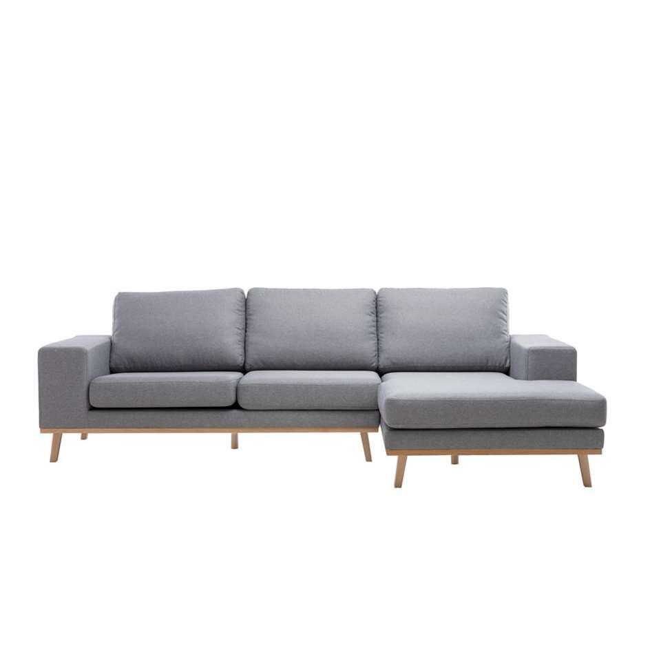 Canapé d'angle Tioga à droite - gris