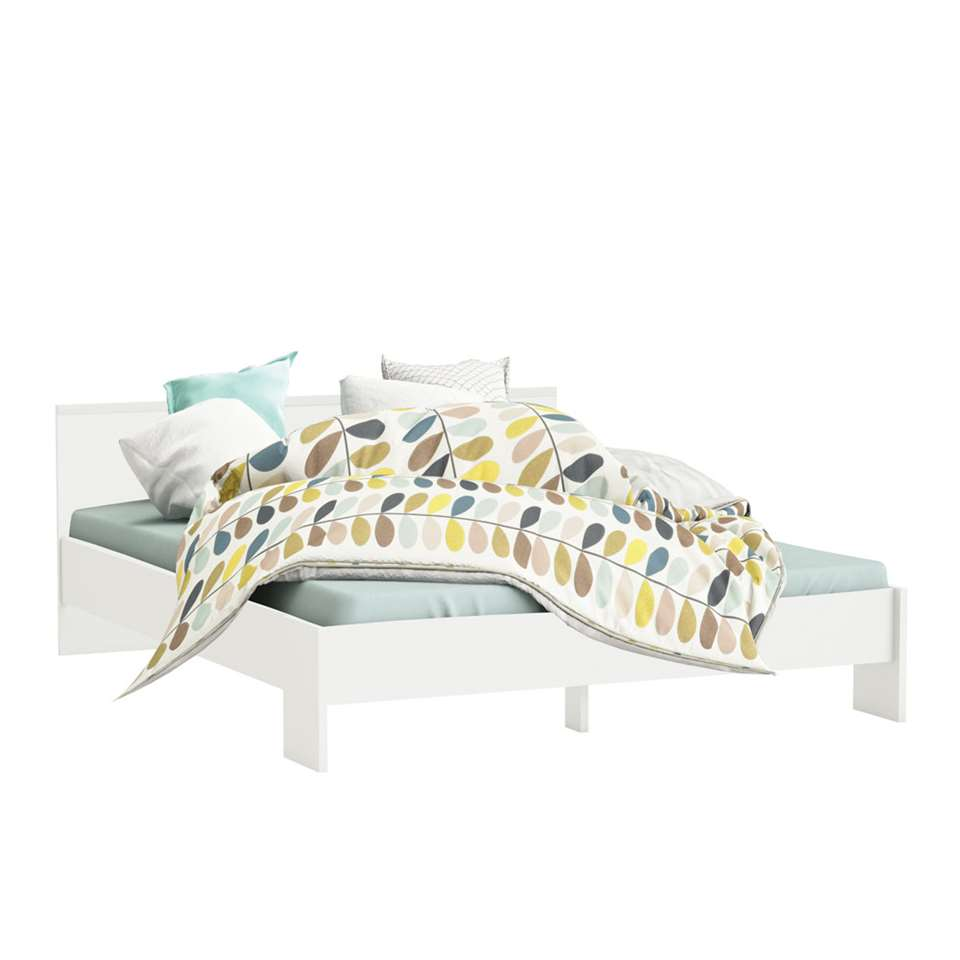 Demeyere bed Marty - wit - 160x200 cm