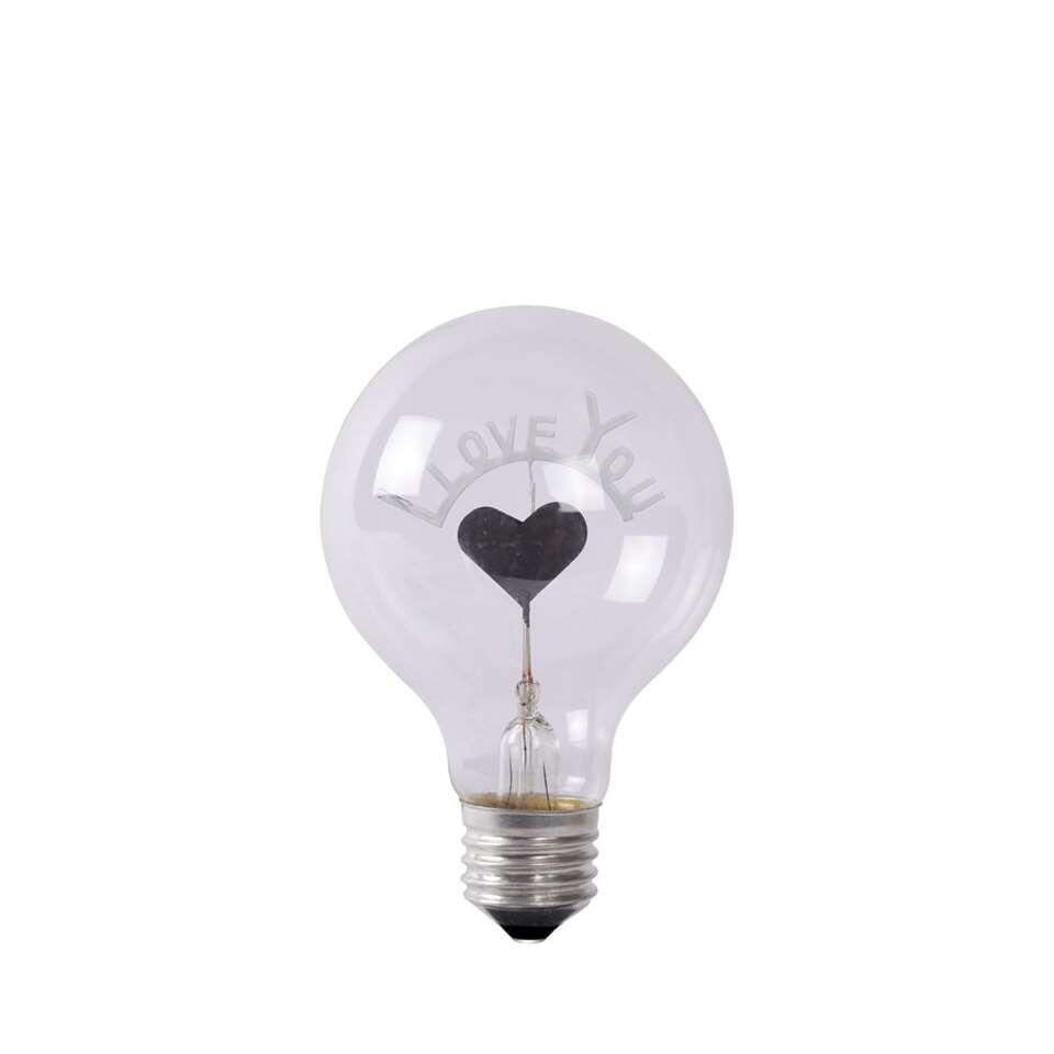 Lampe Ø8 Lucide Coeur Cm Lamp Led Transparente htCdsQrx
