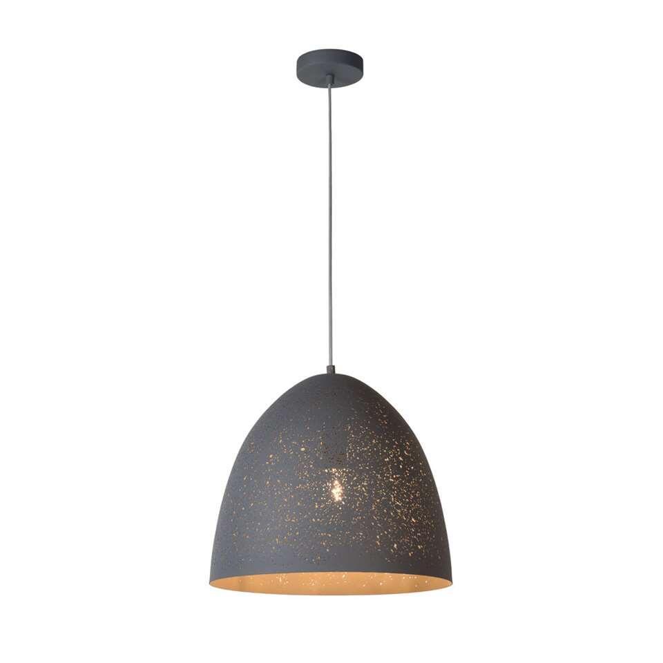 Lucide hanglamp Eternal - grijs - 40 cm