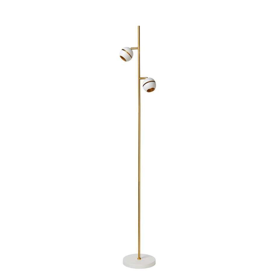 Deze vloerlamp is mooi en handig. Deze staande lamp is een ware eyecatcher in uw interieur. Deze vloerlamp voelt zich vooral goed thuis in een moderne setting.